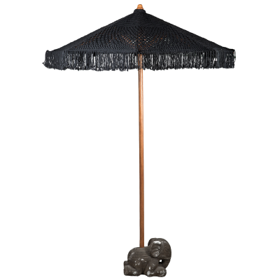Crochet Umbrella Black