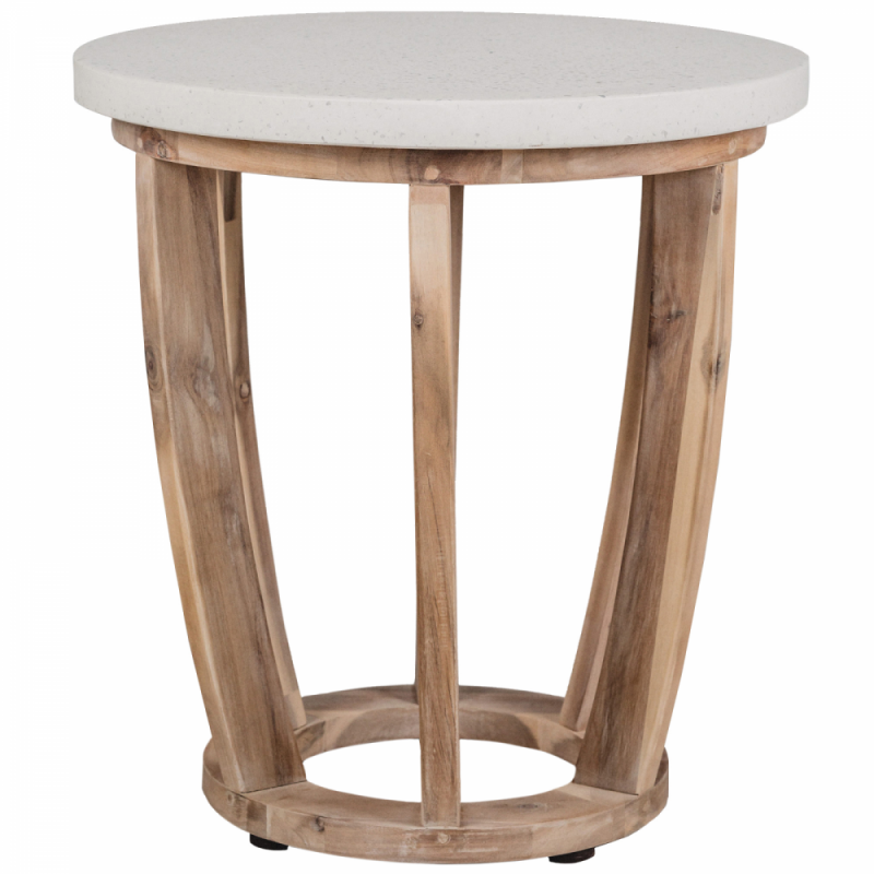 Wooden side table - Woodland
