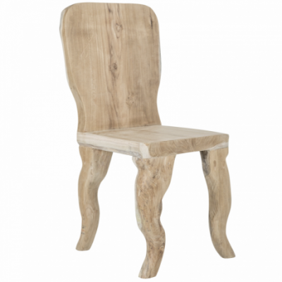 Suar wood dining chair