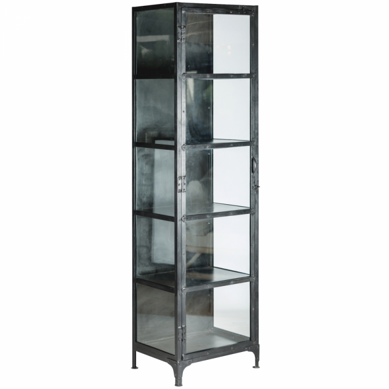 Industrial style display case