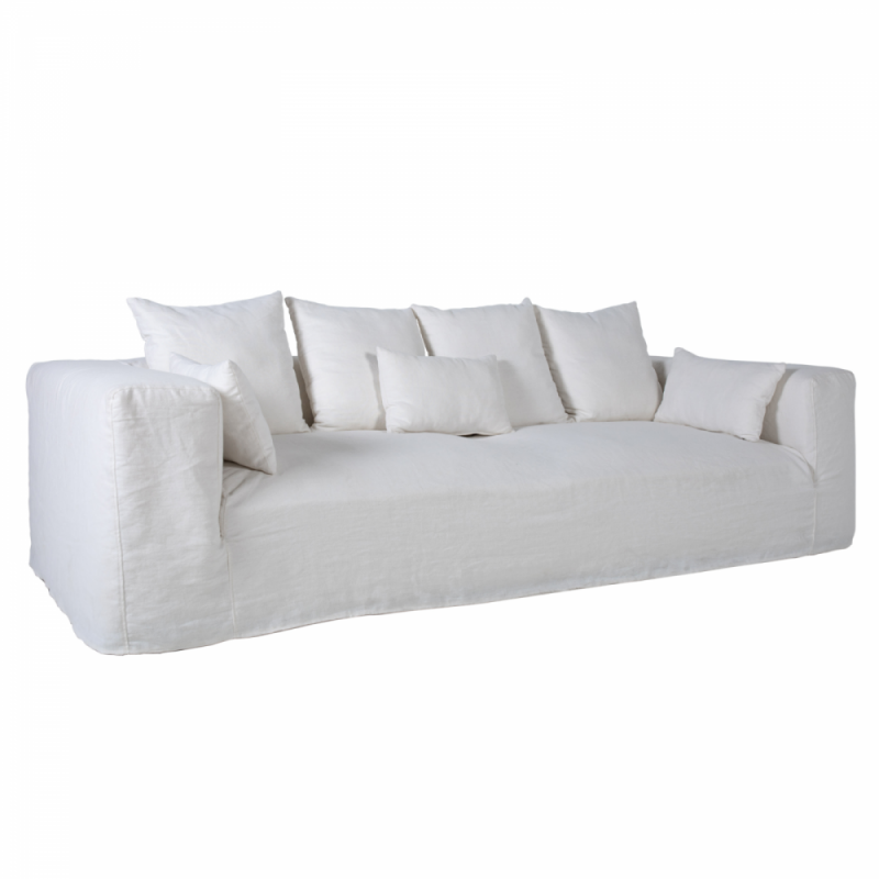 Sofa Turin blanco optico serie E