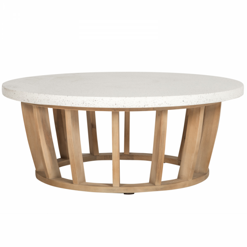 Wooden round center table - Woodland
