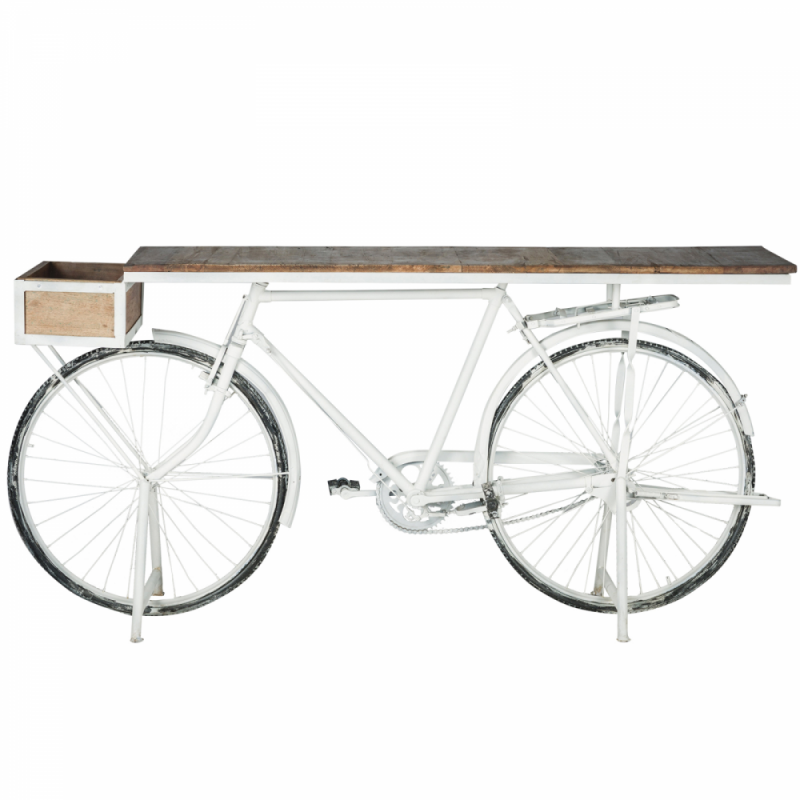 Bicycle Console - White