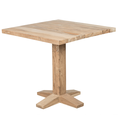 Mesa para bar en madera - Natural